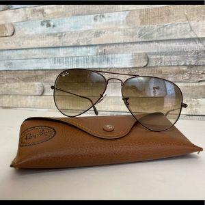 Ray-Ban Sunglasses Large Aviator Metal